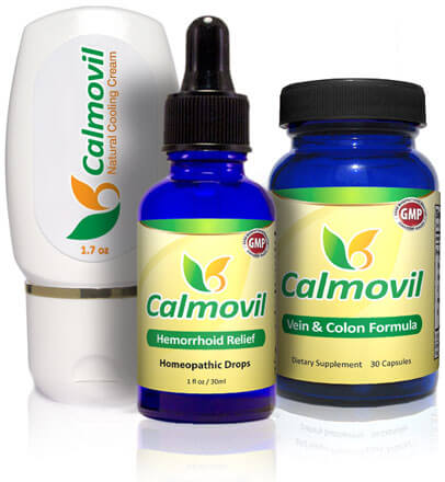 Calmovil - answer for anybody suffering from inflamed hemorrhoids that burn